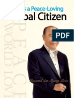 As a Peace-Loving Global Citizen - Autobiography of the Reverend Sun Myung Moon