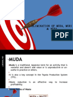 Elimination of Muda, Muri & Mura