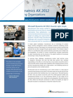 Microsoft Dynamics Ax 2012 Manufacturing Factsheet[1]