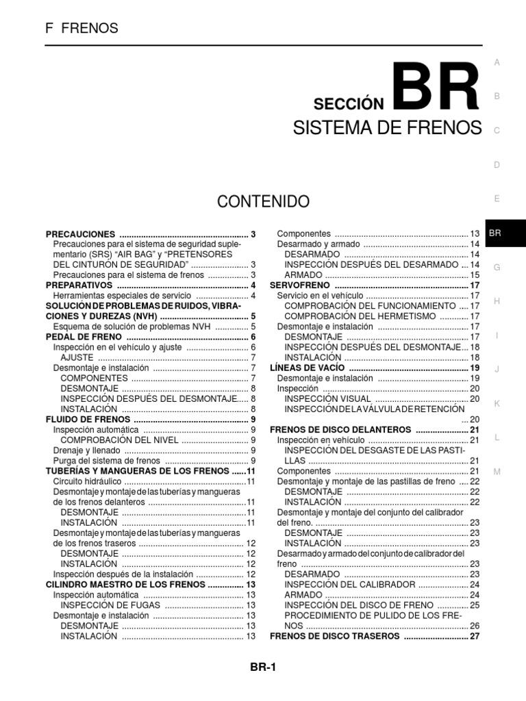 7336377 Manual Tecnico Frenos Nissan