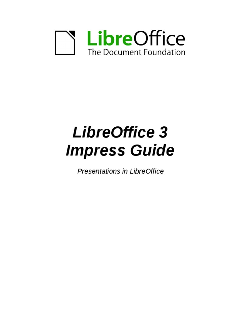 Libre Office 3 Impress Page Layout Keyboard Shortcut Block Diagram Libreoffice