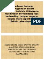 Kesedaran Tentang Kepenggunaan Dalam Kalangan Individu Di Malaysia