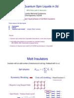 MPA Fisher- Critical Quantum Spin Liquids in 2d