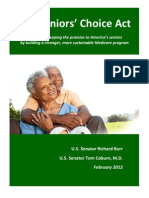 Seniors' Choice Act Report for Distribution - 02 15 12