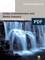 Indian Entertainment & Media Industry - A Growth Story Unfolds - FICCI Frames 07