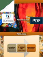 Presentación Plan de Modernización Curricular