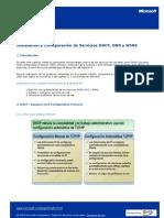 CAPITULO 3 Instalacion y Configuracion de servicios DHCP, DNS y WINS