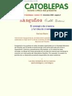 Gustavo Bueno, El Concepto de Creencia y La Idea de Creencia, El Catoblepas 10_2, 2002