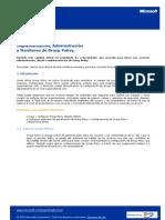 CAPITULO 5 Implementacion, Administracion y Administracion de Group Policy