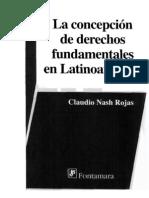 Nash Rojas Claudio La Concepcion de Derechos Fund Amen Tales