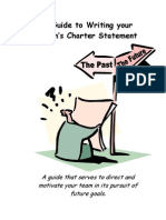 A Guide to Writing Your Team's Charter
