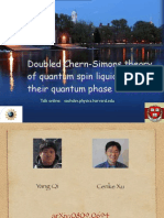 Doubled Chern-Simons theory of quantum spin liquids and their quantum phase transitions