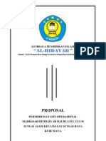 Cover Propsoal