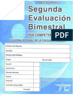Examen 2do Bim Sexto Grado Editorial