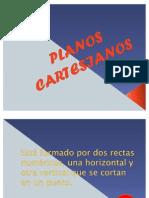 PLANOS CARTESIANOS