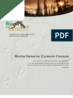 BBC Major Impact Climate Change