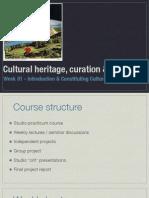 01 - Constituting Cultural Heritage