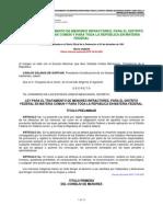Ley Para El Tratamiento de Menores Infractores Para El Df y Para Toda La Republica