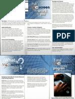 Escreen Brochure