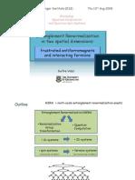 Guifre Vidal- Entanglement Renormalization in two spatial dimensions