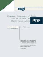 Corporate Gov. of Banks.