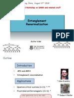Guifre Vidal- Entanglement Renormalization