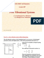 SD Lecture07 Free Vibrational Systems