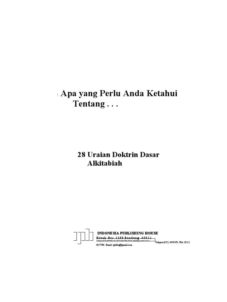 28 Doktrin Kartu Kemat Listrik