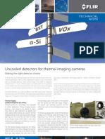 FLIR_uncooled Detectors for Thermal Imaging