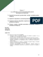 Organizarea Activitatii Depozitelor de Materiale Si Produse