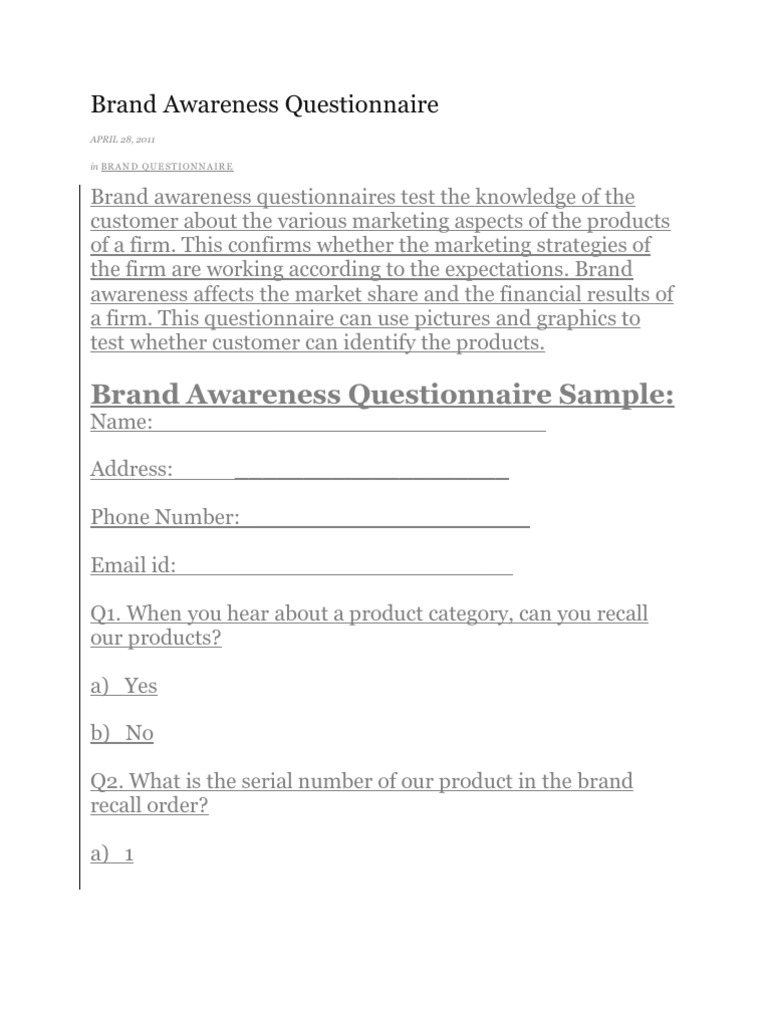 questionnaire for consumer behaviour for laptop A survey of consumer behavior and perceptions self-reported consumer behavior these questions are useful in illuminating trends in consumers' perceptions.