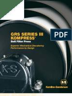 Belt Filter PressKompress Spread