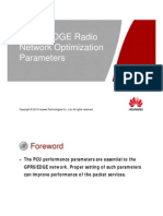 OMO124000 BSC6900 GPRS EDGE V9R11 Build-In PCU Radio Network Optimization Parameters ISSUE1.03