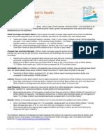 Childrens Health Disparities Factsheet