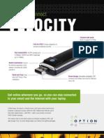 Velocity Spec Sheet