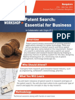 Patent Search Workshop