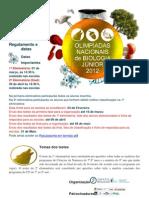 olimpíadas da biologia 2012