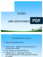 Classification of Taxes Ppt Doms