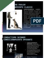 Cognitismo y conductismo