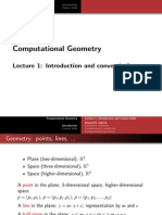 Lec 1 Introduction and Convex Hull