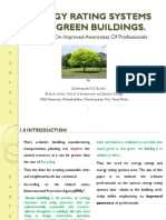Energy Rating Sytems for Green Buildings