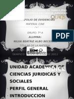 Port a Folio de Evidencia Cine Lcc Uat Tampico