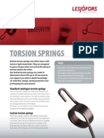 Torsion Springs Id1320
