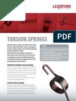 Torsion Springs Id1320