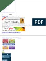 Create Clean Psd Layout 3d