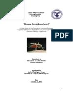 Dengue Breakbone Fever Case Study