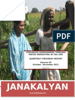 JANAKALYAN's Livelihood Improvement Intervention through Water Harvesting in Gadag (Volume III)