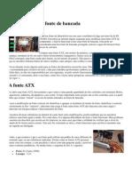 Fonte ATX Como Fonte de Bancada
