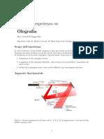 olografia