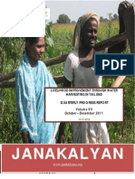 JANAKALYAN's Livelihood Improvement Intervention Report (Vol VII)